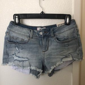 New PINK Cutoff Shorts